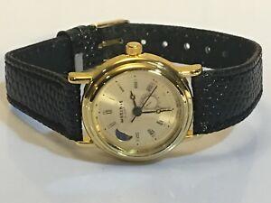 【送料無料】 腕時計 ビンテージムーンフェイズクォーツウィットvintage watchit womens moon phase quartz wrist watch wit0312j