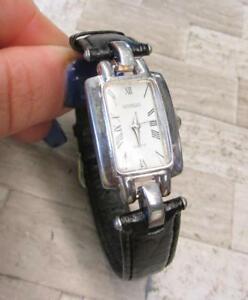 【送料無料】 腕時計 スターリングシルバーレザーストラップグラムgianello sterling silver womens wristwatch w leather strap 220grams ~ 8h7557