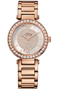 【送料無料】 腕時計 ジューシークチュールアナログローズウォッチjuicy couture womens 1901152 couture analog display rose goldplated watch