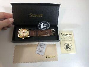 【送料無料】 腕時計 メンズstauer men's timemaster watch