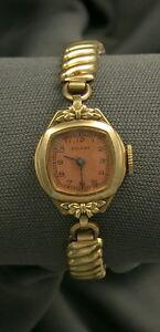 【送料無料】 腕時計 ビンテージレディースピカールkvintage ladies picard watch 10k rgp
