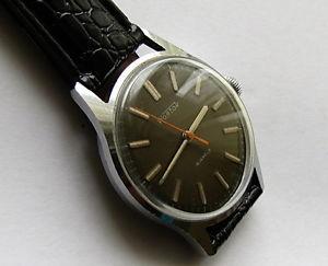 【送料無料】 腕時計 ビンテージソソメンズ#wostok vintage ussr soviet mens wrist watch 18 jewels 1960s caliber 2214 35