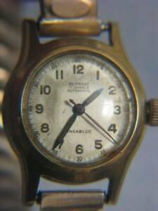 【送料無料】 腕時計 ビンテージレディースブレスレットスイスvintage bernhuf automatic ladies bracelet watch swiss