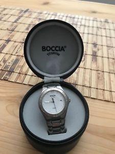 【送料無料】 腕時計 ボッチャチタン 350804mens boccia titanium watch 350804