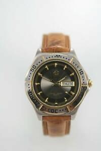 【送料無料】 腕時計 ブラックメンズステンレススチールシルバーゴールドブラウンクォーツ