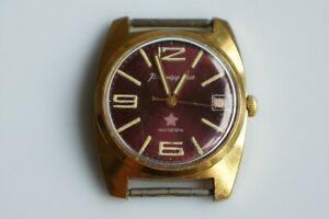 【送料無料】 腕時計 ヴォストークウォッチカレンダーmilitary watch vostok komandirskie chistopol date calendar serviced,oiled au5