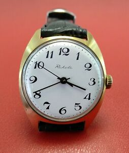 【送料無料】 腕時計 нゴールドソraketa wristwatch cal2609нa gold plated au10 made in ussr vintage