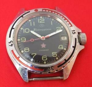 【送料無料】 腕時計 ボストークkomandirskieソussrオーダーブドウvostok komandirskie wrist watch special military army soviet ussr order vintage