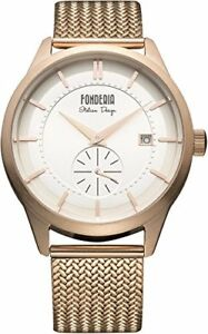 【送料無料】 腕時計 fonderia watch stramliner date 8r009us1 men