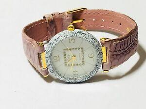 【送料無料】 腕時計 ビンテージスイスメートルvintage lize women'quartz wrist watch very elegant swiss parts 5052m