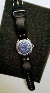 【送料無料】 腕時計 ロシア listingvostok komandirskie 211398 russian mens military commander wrist watch darkblue