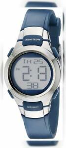 【送料無料】 腕時計 スポーツデジタルクロノグラフウォッチarmitron sport womens 457012 digital chronograph watch