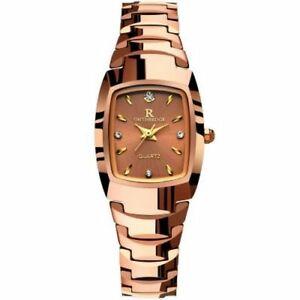 【送料無料】 腕時計 スチールラウンドsteel watches female quartz high quality wristwatch round alloy water resistant