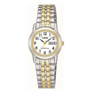 【送料無料】 腕時計 ローラス2rxu11ax9lorus ladies classic two tone bracelet watch rxu11ax9