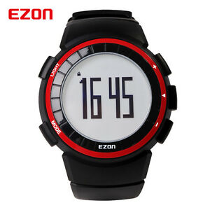 【送料無料】 腕時計 ezonデジタルカロリーwr50mezon men sport running digital watch pedometer calorie counter wrist watch wr50m
