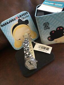 【送料無料】 腕時計 タグビンテージウォッチ wtags rare vintage gwen stefani harajuku lovers 3atm watch collectible tin