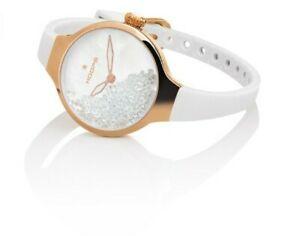 【送料無料】 腕時計 フープ・ヌーヴォーローリングストーンズゴールドホワイトwatch hoops noveau chrie rolling stones gold white 2611lrg02