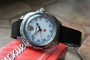 【送料無料】 腕時計 ボストークkomandirskyロシア 211323s2 vostok komandirsky russian military wrist watch 211323s2