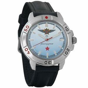 【送料無料】 腕時計 ヴォストークロシアvostok komandirskie 431290 2414a russian military special watch red star