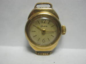 【送料無料】 腕時計 グラスヒュッテカブビンテージglashutte ~15j rare calcub 634 vintage c1965s gp 20m ladys wristwatch