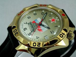 【送料無料】 腕時計 ロシアヴォストークミリタリーウォッチ#russian vostok komandirskie military watch  539295