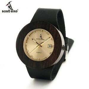 【送料無料】 腕時計 ボボストラップauthorized bobo bird c03c02 wooden bamboo watch with genuine leather strap