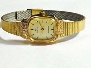【送料無料】 腕時計 ヴィンテージウォルサムクオーツwe500dvintage waltham ladies gold tone quartz wrist watchwe500d