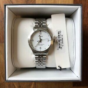 【送料無料】 腕時計 ウォーターベリーステンレススチールtimex waterbury womens 34mm stainless steel watch