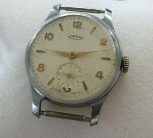 【送料無料】 腕時計 listingvintage soviet ussr pobeda 2mchz wristwatch listingvintage soviet ussr pobeda 2mchz wristwatch