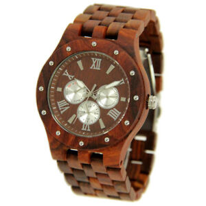 【送料無料】 腕時計 ボックスwooden watches for men fathers day gift with wood box