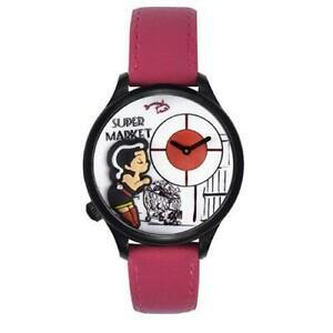 【送料無料】 腕時計 braccialiniトゥーアtua1533bpフクシャbraccialini wristwatch women tua tua1533bp casual watch leather fuchsia