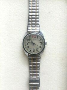 【送料無料】 腕時計 ロシアビンテージステンレススチールウォッチrare russian pakema vintage winder wind watch winding working stainless steel
