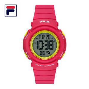 【送料無料】 腕時計 2ストップウォッチfila 38212004100m wrディジタルアラームバックライト