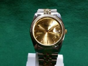 【送料無料】 腕時計 クオーツnoble water resistant mans quartz wrist watch