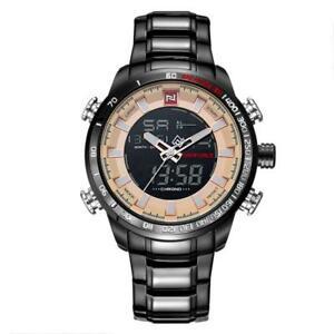 【送料無料】 腕時計 naviforceスポーツウォッチステンレス