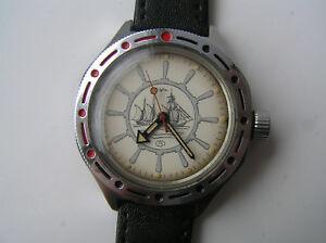 【送料無料】 腕時計 ヴィンテージussr watch vostok amfibia サービスvintage ussr watch vostok amfibia serviced