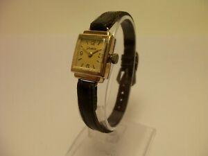 【送料無料】 腕時計 ヴィンテージgub glashutte 15 rubis kal634 ladies wristwatchmanual winding gold platedvintage gub glashtte 15 rubis kal634 ladies