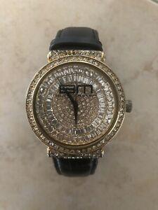 【送料無料】 腕時計 マスターメンズヒップホップドルウォッチam bling master men's hip hop watch with rhinestones, retail 399