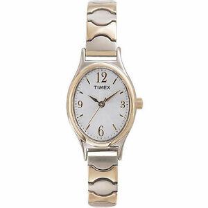 【送料無料】 腕時計 timex t26301, womens twotone cavatina expansion watch, t263019j