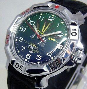 【送料無料】 腕時計 メンズヴォストーク#watch mens vostok military komandirskie 811976