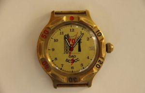 【送料無料】 腕時計 ソビエトヴォストークウォッチビンテージロシアussr vostok komandirskie watch vintage russian wristwatch