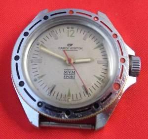 【送料無料】 腕時計 ヴォストークメンズロシアソビエトソサービスcardi vostok mens wristwatch russian soviet ussr wrist watch serviced working
