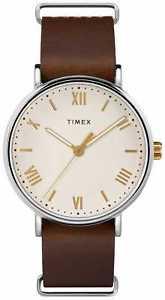 【送料無料】 腕時計 タイメックスtw2r80400southviewtimex tw2r80400, mens southview, brown leather watch