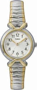 【送料無料】 腕時計 リーダートーンウォッチtimex t21854, easy reader, womens 2tone expansion watch