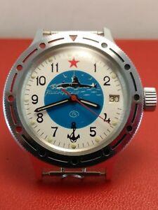 【送料無料】 腕時計 ヴォストークメンズロシアヴィンテージvostok komandirskie mens wristwatch russian military watch vintage