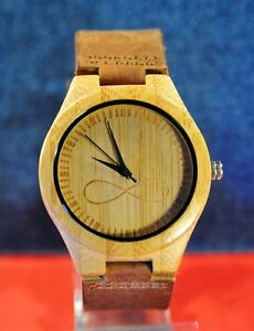 【送料無料】 腕時計 wonbeecalmiyota 2036ケース1999wonbee calmiyota 2036 bamboo wood case mens wristwatch circa 1999s
