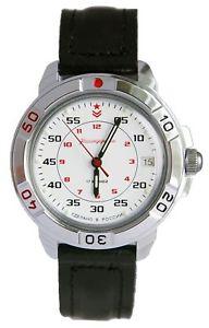 【送料無料】 腕時計 ヴォストークロシアvostok komandirskie 431171 2414 military russian commander watch white red star