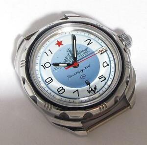 【送料無料】 腕時計 ニースヴォストークロシアnice vostok komandirskie military navy icer russian gift wristwatch serviced