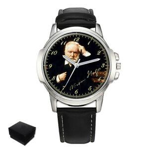 【送料無料】 腕時計 ビクトルユーゴフランスメンズvictor hugo french poet mens wrist watch engraving