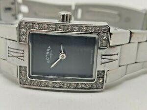 【送料無料】 腕時計 ロータリーレディースステンレススチールブレスレットポンドrotary ladies stainless steel bracelet watch lb0259004 239d